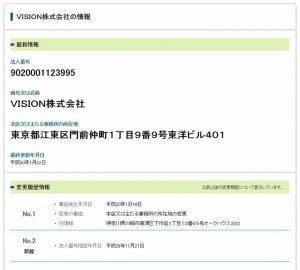 VISION株式会社